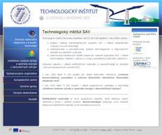 Technologický inštitút SAV 2010 - 2015